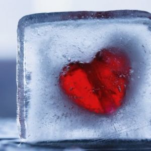 care heart ice cube