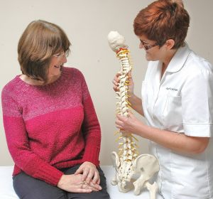 Caring Osteopathy with spine