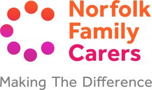 Norfolk Carers Logo with Strap 2