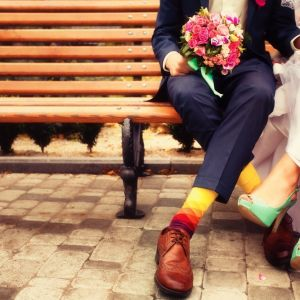 cool wedding day pic