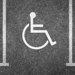 Disabled parking at Stansted airport