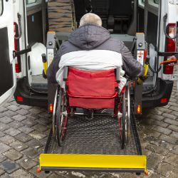 Accessible dial-a-ride services
