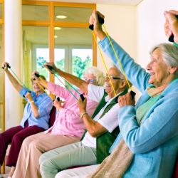 Chair based exercises for older people in Hertfordshire