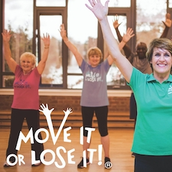 Move It or Lose It Exercise Classes reading