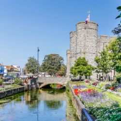 Canterbury old town