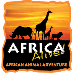Africa Alive Logo - Accessible Days out in Suffolk