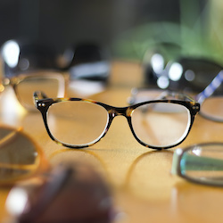 Glasses discounts for the over 60s
