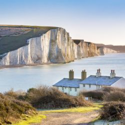 the white cliffs of dover in Kent
