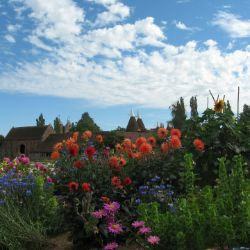 Sissinghurst Castle Gardens in Kent