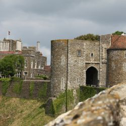 The historic Dover Castle, a good cultural day out for older people interested in history in Kent.