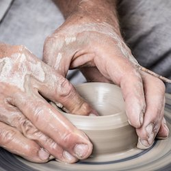 Pottery Class for those with early onset dementia