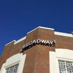 The historic Letchworth Broadway