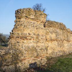 Roman Wall of St Albans, Hertfordshire