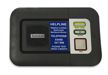 Helpline Base Unit for personal alarm solutions for the elderly