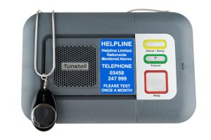 Helpline Base Unit and Personal Alarm Pendant