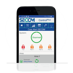 SECOM care tech for the elderly living alone