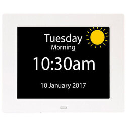Rosebud Reminder clock UK