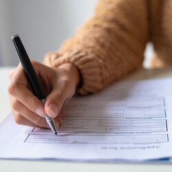 Filing a probate application