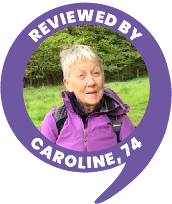 Caroline, 74 Age Space Reviewer