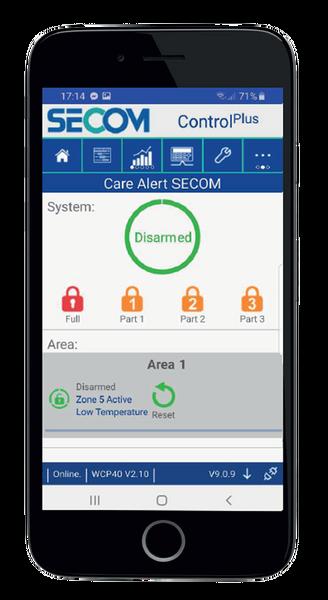 SECOM care alert app