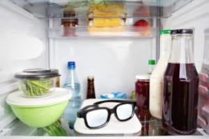 Glasses in the Fridge